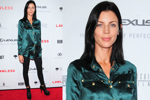 Who needs Rupert? Liberty Ross looks hot at first red carpet appearance since husband's affair