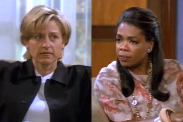 The nasty names people called Oprah after <i>Ellen</i>'s 1997 'coming out' episode
