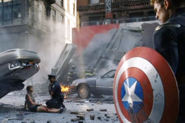 Watch: The Avengers' alternate opening scene