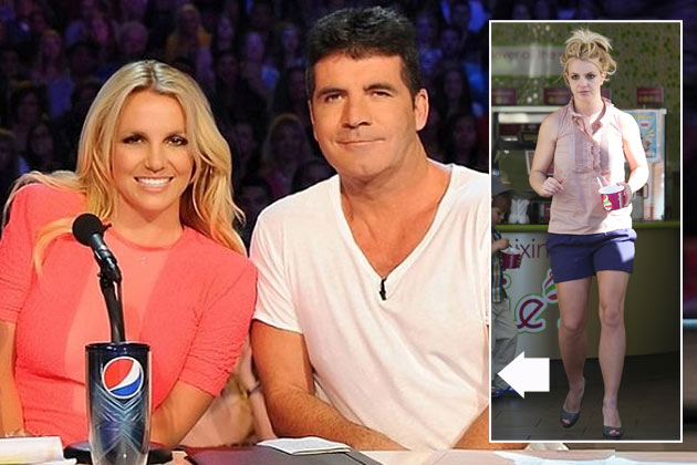 Simon Cowell ordered Britney Spears to clean up her look for TV