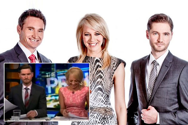 Watch: Carrie Bickmore accidentally reports on 'C---as Airlines' in on-air blooper