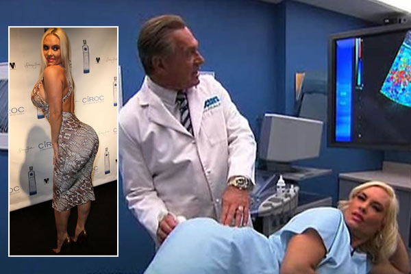 Watch: TV ultrasound proves Coco doesn't have butt implants