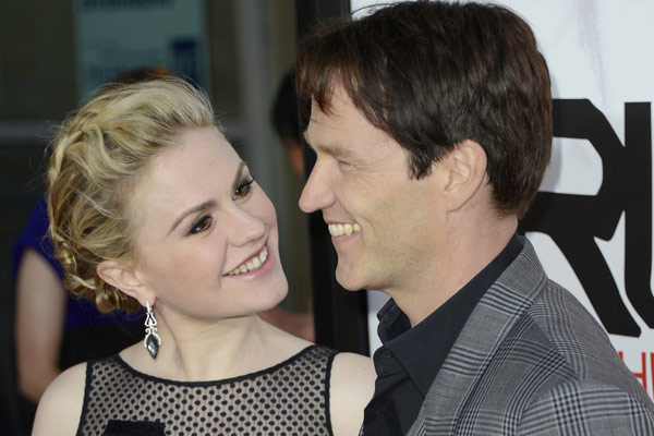 'Overjoyed': <i>True Blood</i>'s Anna Paquin and Stephen Moyer welcome twins
