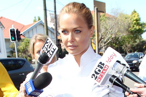 Lara Bingle loses license over hit and run
