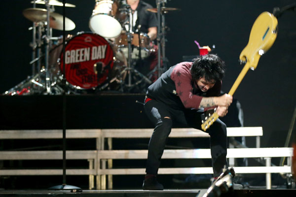 Watch: Green Day frontman sent to rehab after on-stage tantrum
