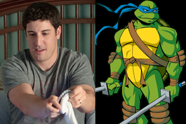 'Foul-mouthed scumbag': Outrage over American Pie star in TMNT TV remake