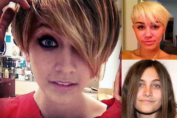 Paris Jackson fools gossip sites with Miley Cyrus-style haircut hoax