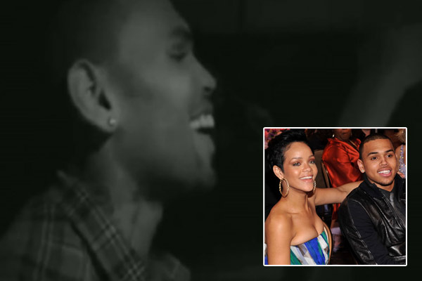 Watch: Chris Brown drunkenly admits he still loves Rihanna... and his other ex-girlfriend