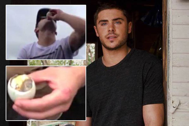 Watch: Eww! Zac Efron eats a duck foetus on camera