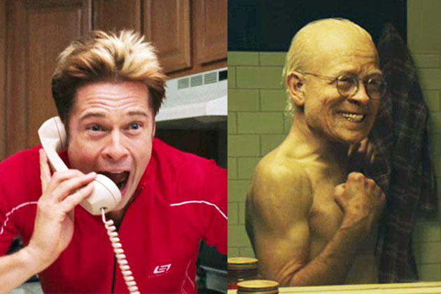 SLIDESHOW: Muscles, moustaches and make-up: Brad Pitt's craziest on-screen transformations