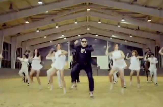 Watch: 'Gangnam Style' without the music