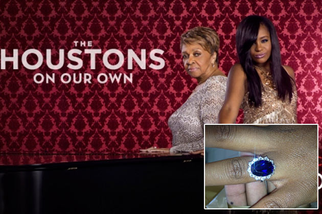 Watch: Whitney Houston's family react to Bobbi Kristina's engagement on new reality TV show
