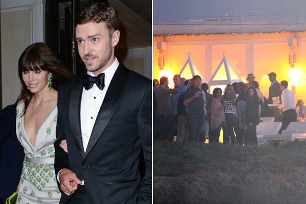 Hot Pics Inside Justin Timberlake And Jessica Biel S Pre Wedding Party In Italy