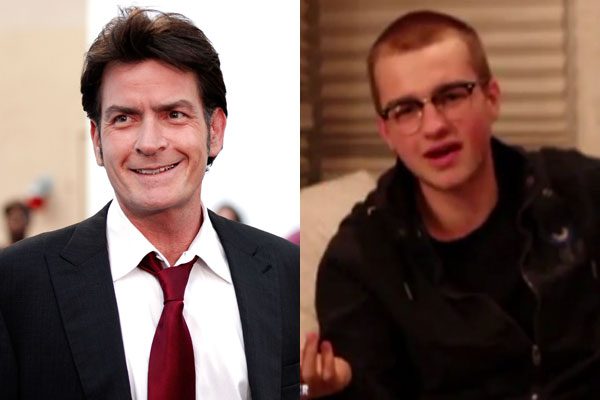 '<i>Two and a Half Men</i> is cursed': Charlie Sheen speaks out as Angus T Jones apologises for outburst
