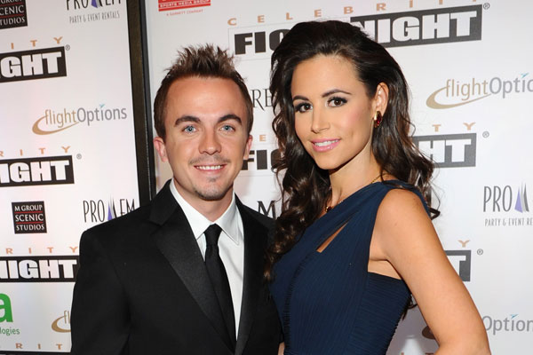 Frankie Muniz and fiancee Elycia Turnbow