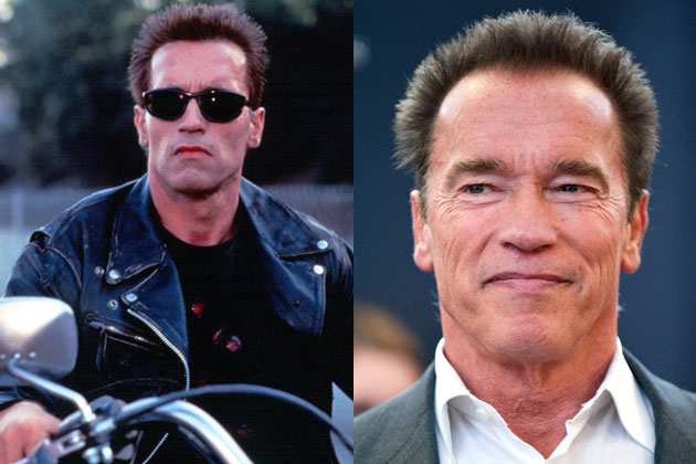 He'll be back: Arnie's doing <i>Terminator</i> 5 and 6