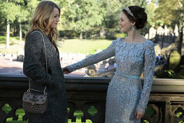 Serena and Blair in the final episode of Gossip Girl