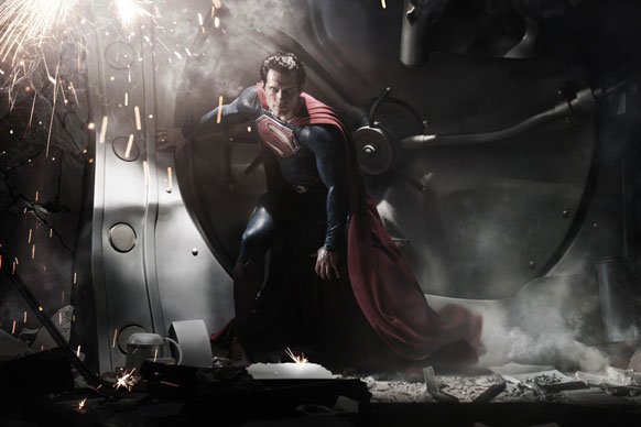 """People are afraid of what they don't understand.""<br/>This year's entry into the war between DC Comics and Marvel Universe brings us a superman adaptation produced by <b>Christopher Nolan</b> and directed by <b>Jack Snyder</b>. Correlations have already been made regarding the similarities to Christopher's <i>The Dark Knight Rises</i>. But let's just hope that the film is as dark as the trailer promises."
