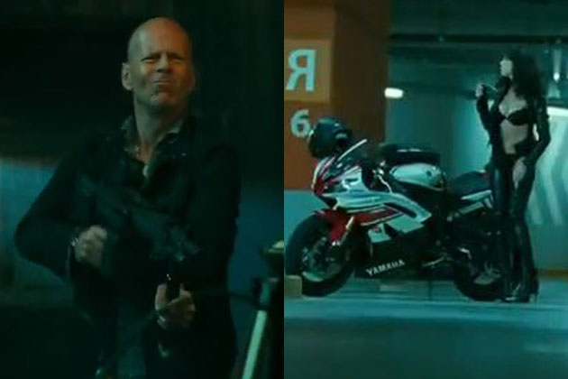 Action, babes and terrorism: Watch the full trailer for A Good Day to Die Hard