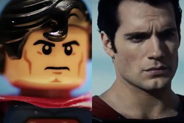 Man of Bricks versus Man of Steel