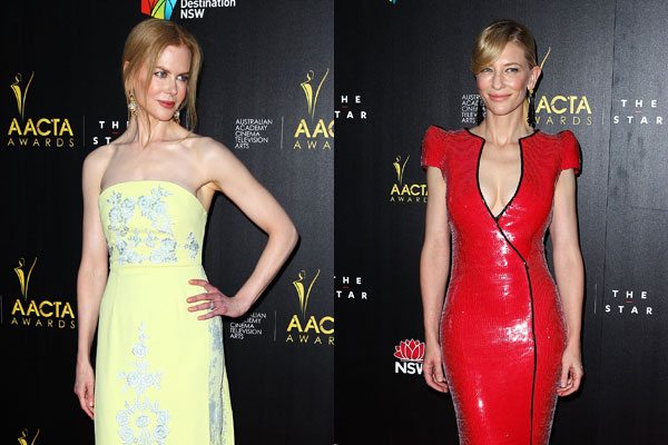 Nicole Kidman, Cate Blanchett steal the limelight on AACTA Awards red carpet