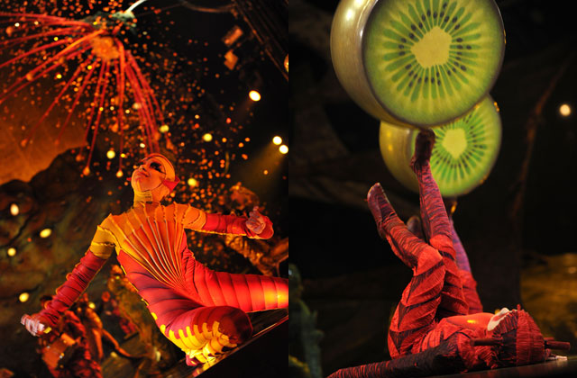 Watch: Crazy 'foot-juggling' stunts in Cirque Du Soleil's latest show