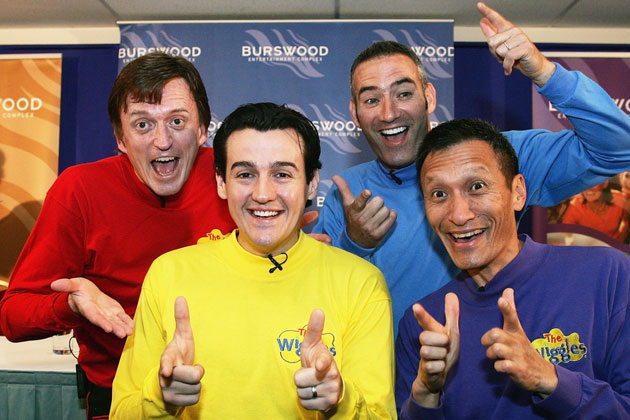 The Wiggles back in November, 2006.