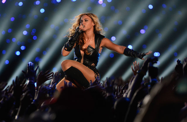 Watch: Beyonce reunites with Destiny's Child for fiery half-time Super Bowl medley