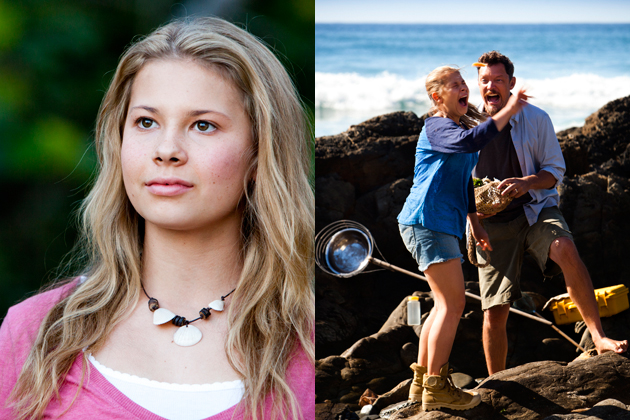 Bindi Irwin in Nims Island