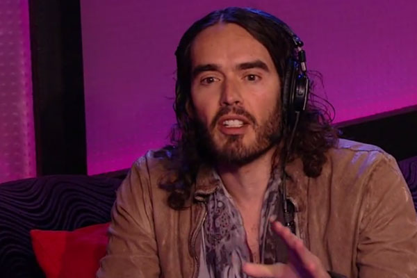 Who's the sleaziest? Russell Brand gets mad when compared to Katy's new man John Mayer