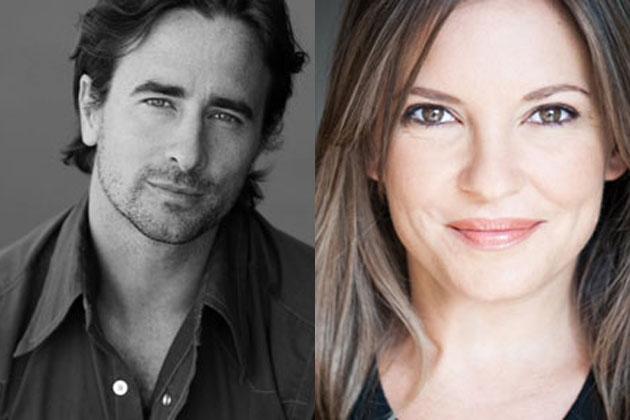 Kip Gamblin and Rebekah Elmaloglou