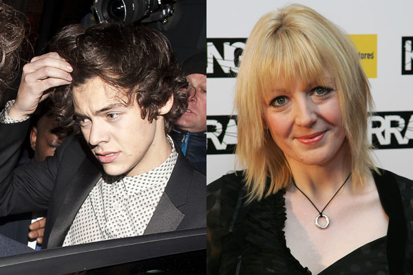 Harry Styles and Yvette Fielding