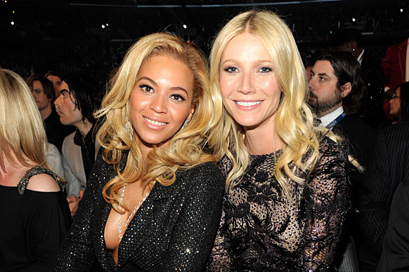 "One seems so cool and American while the other seems so stuffy and faux English, but Beyoncé says of Gwyn: ""She is incredible, she's a great friend on every level."" <br/><br/>The pair were introduced to each other by their husbands rapper Jay-Z and rocker Chris Martin - who are also unlikely BFFs!<br/><br/><a href=""http://celebrities.ninemsn.com.au/antibullying"">Want to win an iPad? Take our quiz!</a>"