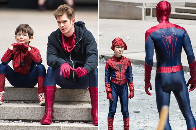 Cute! First look at Spider-Man's new Mini-Me