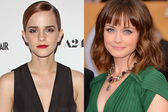 <br/>There are rumours aplenty for who will be cast as Anastasia Steele in the <i>Fifty Shades of Grey</i> movie. <br/><br/>But we've rounded it off to our top six picks, including <i>Gilmore Girls</i> star <b>Alexis Bledel</b> and <i>Harry Potter</i>'s <b>Emma Watson</b>. <br/><br/>Scroll through to see who else we picked and to watch videos of their raunchiest roles...