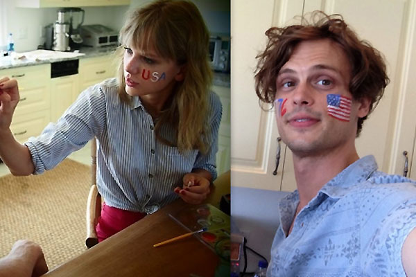 Is this Taylor Swift\'s new man? Matthew Gray Gubler uploads photo ...