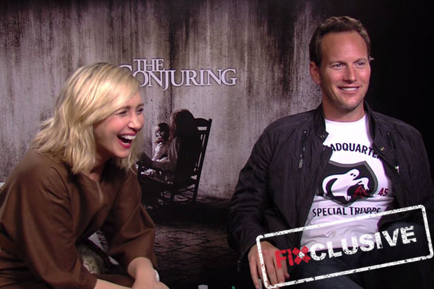 EXCLUSIVE: The Conjuring cast talk about 'disturbing' incidents on-set