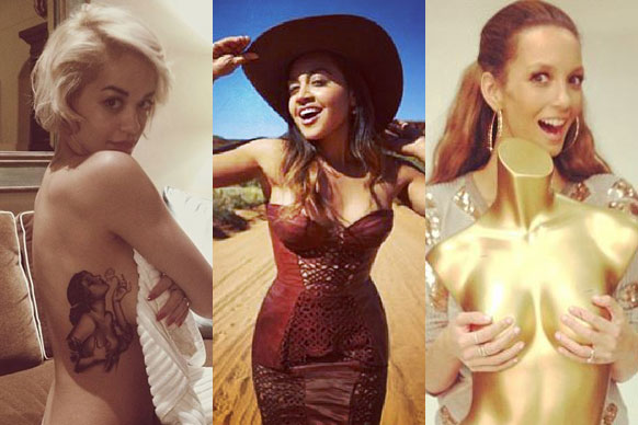 Sexy cowgirls! Bangin' bikini bods! Hand bras! Check out our fave social media snaps for the week.... <br/><br/>Source: Instagram