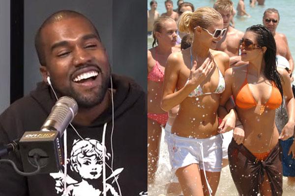 Kanye: 'I fell in love with Kim when I saw her in Australia'