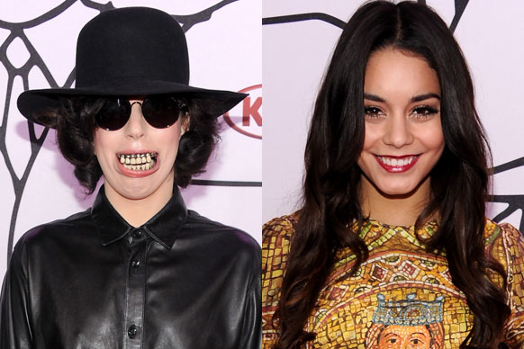 "The first ever YouTube Music Awards have kicked off in New York City with Lady Gaga giving us yet another ""WTF?!"" moment.<br/><br/>Gaga wore a set of grills that made her look like a freaky ventriloquist puppet. Check out the terrifying teeth and all the other celebs who made it ...<br/><br/>Images: Getty<br/><br/>Author: Adam Bub <b><a target=""_blank"" href=""http://twitter.com/theadambub"">@theadambub</a></b>"