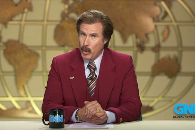 Watch: Anchorman 2's hilarious Melbourne Cup message for Australia