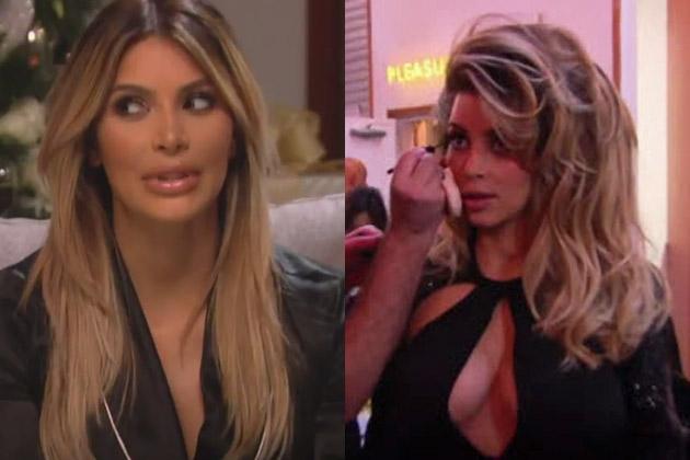 Kardashian Christmas special sneak peek: Pouty Kim, surprise Bruce Jenner and no Kanye or Lamar!