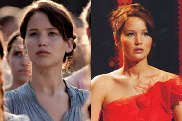 A makeover is a matter of life or death for Hunger Games' Katniss Everdeen, played by the always adorable Jennifer Lawrence.