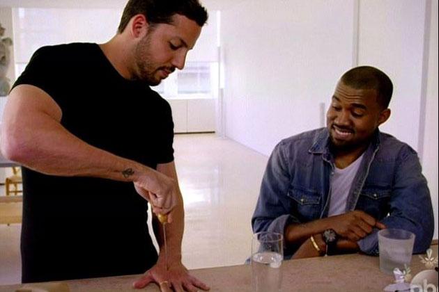 David Blaine, Will Smith, Kanye West