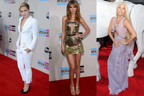 We love AMA day! Check out our fave celebs on the red carpet...