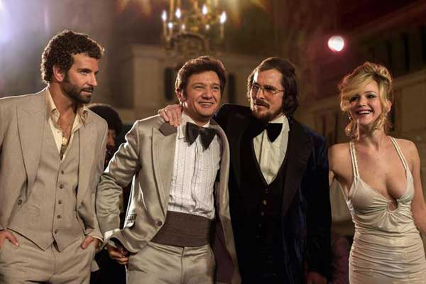 <i>American Hustle</i>, which is directed by David O. Russell, has also been nominated for 10 awards including Best Director and Best Original Screenplay.