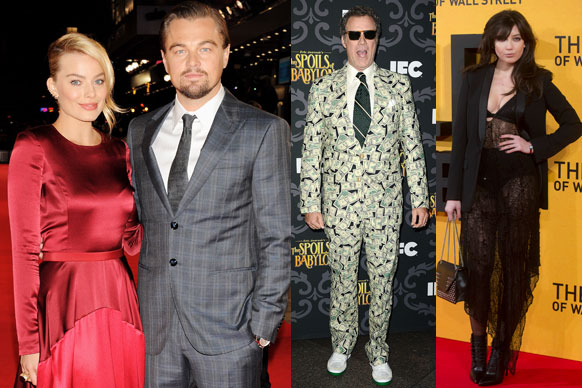 Check out all the action and fashion from this week's red carpet events.<br/><br/>Featuring <b>Sandra Bullock</b>, <b>Leonardo DiCaprio</b>, <b>Margot Robbie</b>, <b>Will Ferrell</b> and <b>Cate Blanchett</b>.