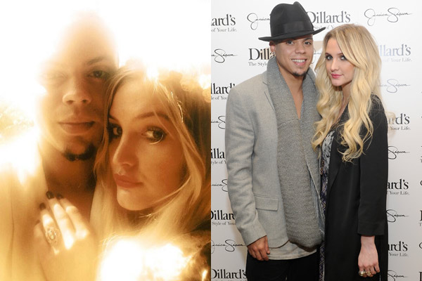 Ashlee Simpson engaged to Diana Ross' son: See the ring!