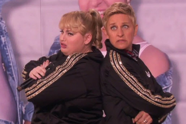 Watch: Rebel Wilson and Ellen DeGeneres win the internet with song about cat videos