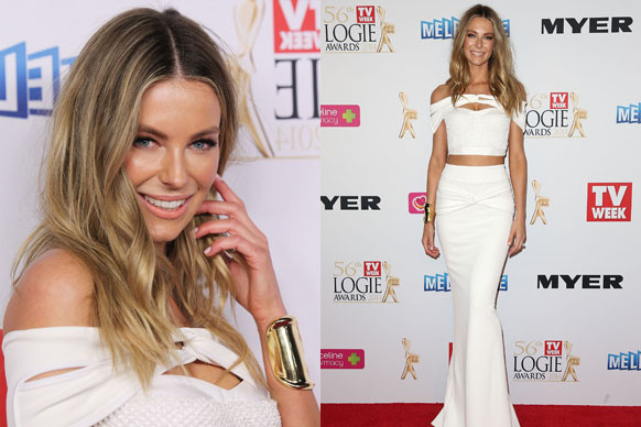 We couldn't help but notice that it was all white, white and more white at the Logie awards. A ethereal fash off….so to speak. Let us know who you think wore it best on our Facebook! <br/>First up….Jen Hawkins in Toni Maticevski. Smoking! <br/>